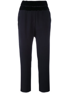 New Playa cropped trousers The Kooples