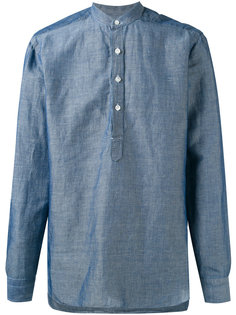 рубашка с воротником-мандарин Barba