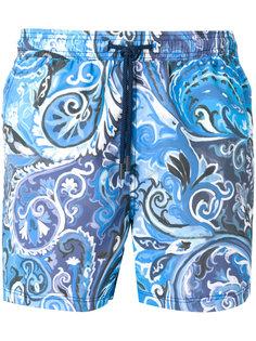 шорты для плавания с узором Etro