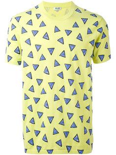 футболка с геометрическим принтом Kenzo