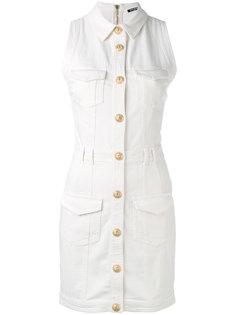 мини-платье в утилитарном стиле Balmain