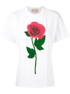 футболка Beauty and the Beast  Christopher Kane