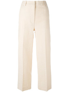 textured cropped trousers Sportmax
