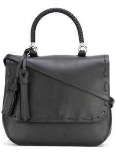 сумка на плечо с откидным клапаном Max Mara