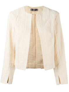 textured cropped jacket Sportmax