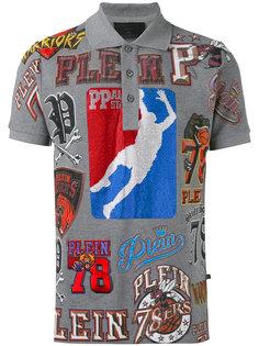 футболка-поло с принтом баскетбола Philipp Plein
