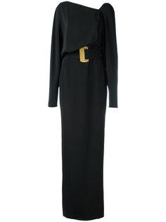 длинное платье с поясом Tom Ford