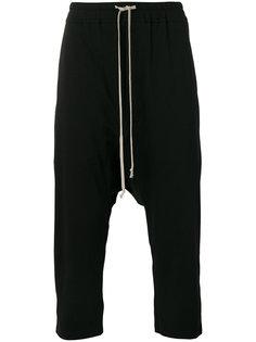 укороченные брюки мешковатого кроя Rick Owens DRKSHDW