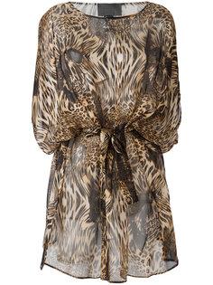 patterned dress Philipp Plein