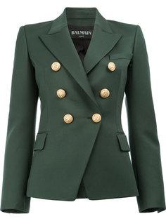 пиджак с заостренными лацканами Balmain