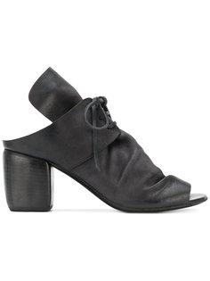 босоножки с открытым носком и шнуровкой Marsèll