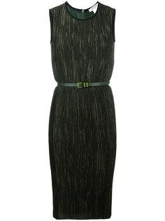 приталенное платье с поясом Max Mara