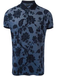 футболка-поло с цветочным узором Etro