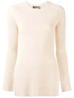 трикотажная блузка в рубчик Torre Sportmax