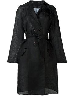 пальто с поясом Ermanno Scervino