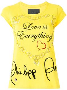 футболка Love Is Everything Philipp Plein