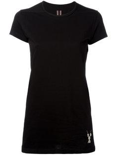 футболка с вышивкой лобстера Rick Owens DRKSHDW