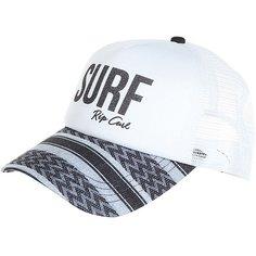 Бейсболка с сеткой женская Rip Curl Surf Trucker White