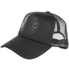 Бейсболка с сеткой женская Rip Curl Wetty Logo Cap Black