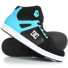 Кеды кроссовки высокие детские DC Rebound Se Black/Blue