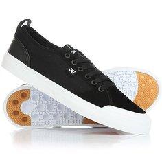 Кеды кроссовки низкие DC Evan Smith S Black/White