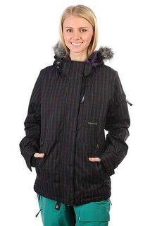 Куртка утепленная женская Santa Cruz Sc 10/11 Ayla Blk Rain