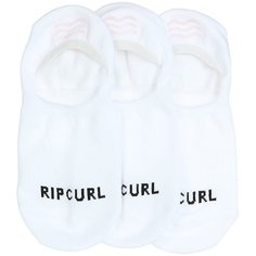 Носки низкие Rip Curl Invisible Sock-3p White