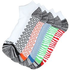 Носки низкие Rip Curl Pop Ankle Sock 5-pack White