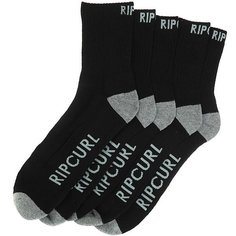 Носки средние Rip Curl Crew Sock 5-pack Black