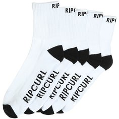 Носки средние Rip Curl Crew Sock 5-pack White