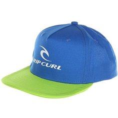 Бейсболка с прямым козырьком Rip Curl Corpo Mid Peak Cap Lime