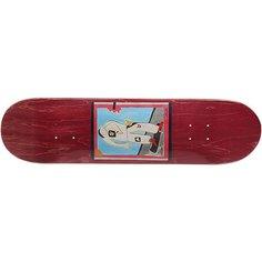 Дека для скейтборда для скейтборда Absurd SSS №1 Burgundy 32 x 8 (20.3 см)