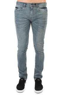 Джинсы узкие Billabong Slim Outsider Denim Bleach Daze