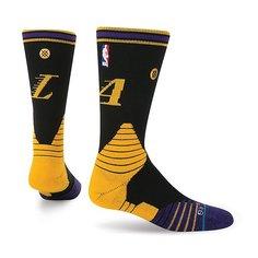 Носки средние Stance Nba Oncourt Logo Crew Lakers Black