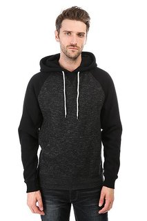 Толстовка кенгуру Billabong Balance Pullover Black Heather
