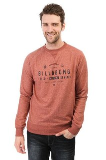 Толстовка свитшот Billabong Watcher Red Clay