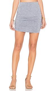 Мини юбка со сборками - MONROW