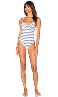 Recycled stripe underwire bodysuit - Only Hearts