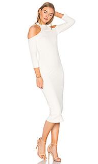 Платье из ткани в рубчик hana - Rachel Pally
