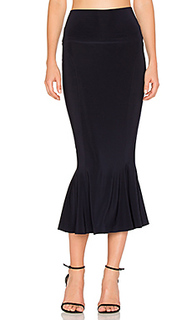 Cropped fishtail skirt - Norma Kamali
