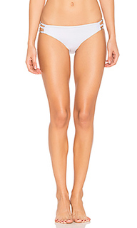 Juliet solids side strap bikini bottom - Ella Moss