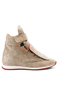 Высокие кроссовки с 3 язычками - Vivienne Westwood