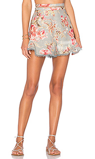 Mercer flutter frill short - Zimmermann
