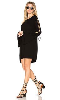 Платье со шнуровкой morrison - Michael Lauren