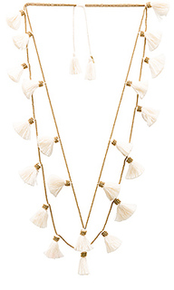 Dara tassel necklace - Natalie B Jewelry