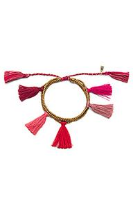 Браслет с кисточкой dara - Natalie B Jewelry