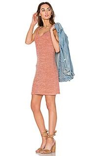 Мини-платье с v-образным вырезом - Bobi