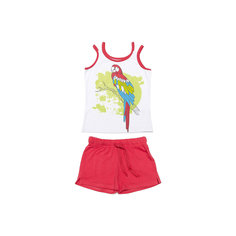 Комплект для девочки:майка+шорты Scool S`Cool
