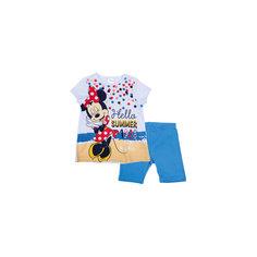 Комплект: футболка и шорты для девочки PlayToday