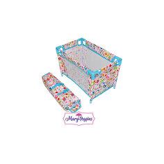"Кроватка для куклы ""Фантазия"",  51*32*33 см, Mary Poppins"